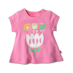 Zutano baby Top Tulip Screen Swing Tee