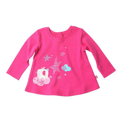 Zutano baby Top Wishing Star Screen L/S Swing Top