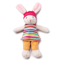 Zutano baby Toy Hip Hoppy Bunny with Dress