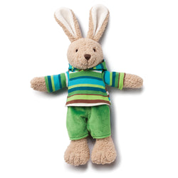 Zutano baby Toy Hip Hoppy Bunny with Hoodie