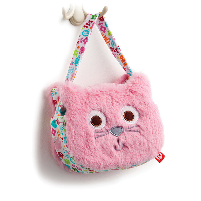 Zutano baby Toy Mochi Cat Purse