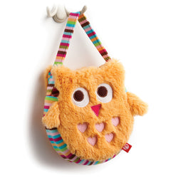 Zutano baby Toy Owl Purse