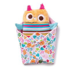 Zutano baby Toy Swaddle Owl