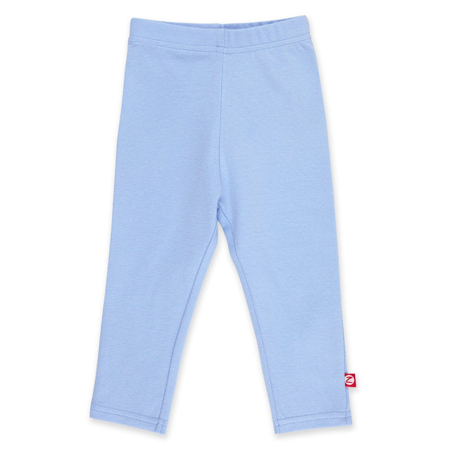 Zutano Bottom Solid Legging - Light Blue