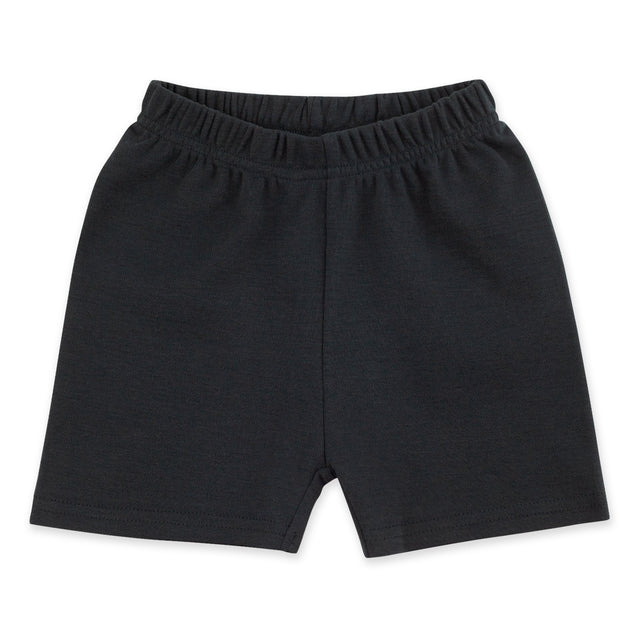 Zutano Bottom Solid Short - Black