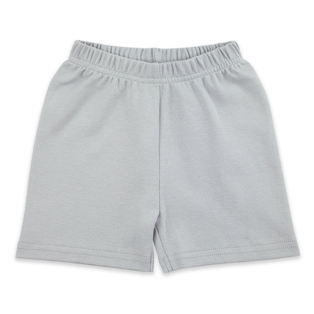 Zutano Bottom Solid Short - Light Gray