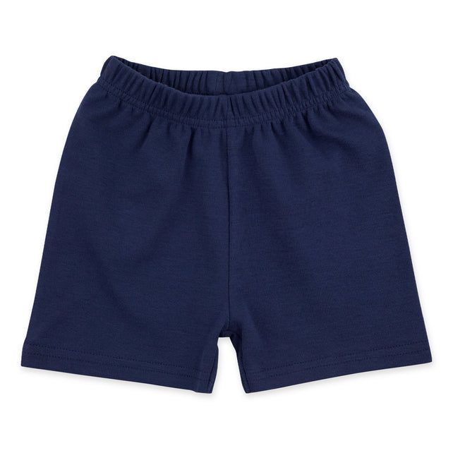 Zutano Bottom Solid Short - True Navy