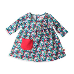 Zutano Dress Edelweiss Little Pocket Dress
