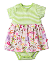 Zutano Dress Lions Lullaby Romper Dress
