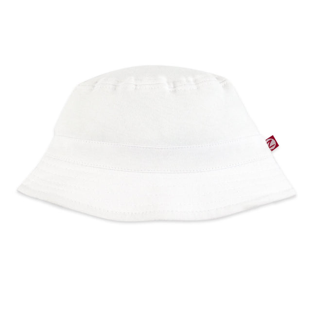 Zutano Hat Bucket Sun Hat - White