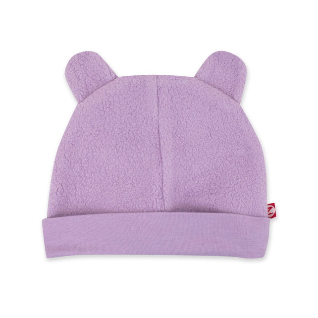 Zutano Hat Cozie Fleece Hat - Lilac