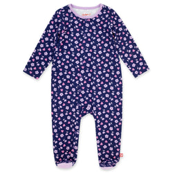 Zutano One Piece Primrose Organic Cotton Footie