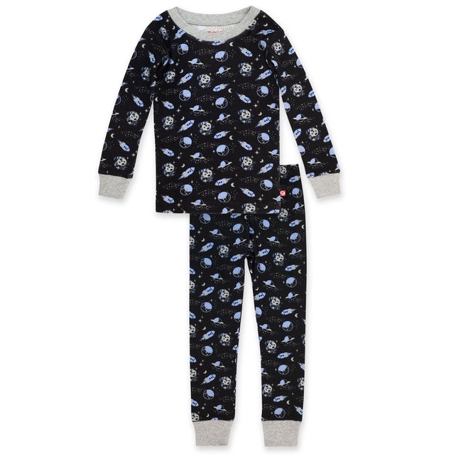 Zutano Pajama Lost In Space Organic Cotton Pajama Set