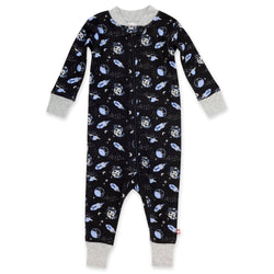 Zutano Pajama Lost In Space Organic Cotton Sleeper