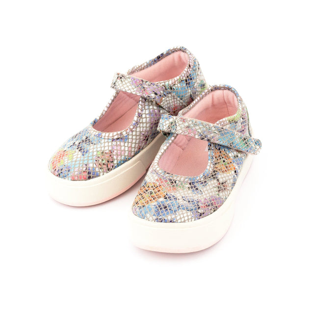 Zutano Shoe Charlotte Mary Jane Girls Shoe - Floral