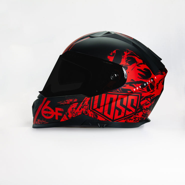 989 Moto-V 6Foot4 Honda Full Face helmet