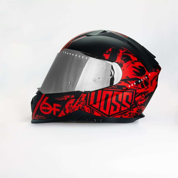 989 Moto-V 6Foot4 Honda Full Face helmet with Integrated Sun Lens - Voss Helmets