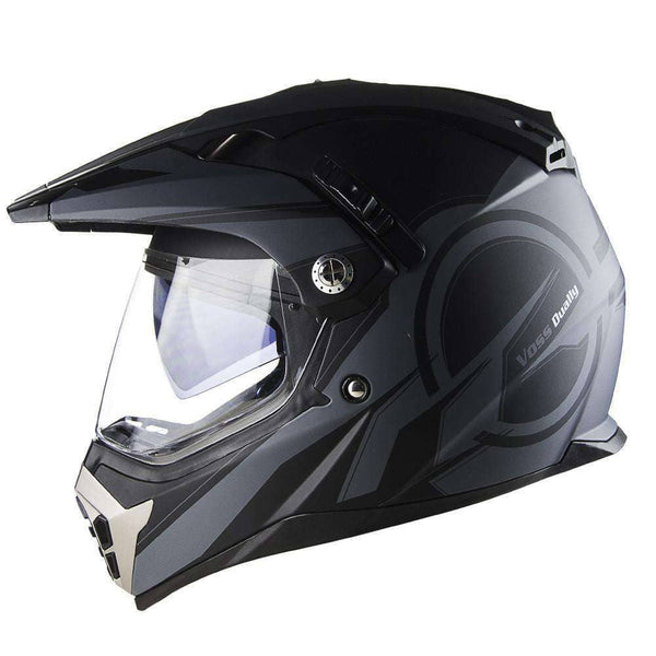600 Dually Dual Sport Helmet - Two Tone Reaction