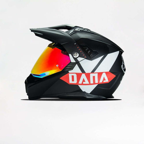 601 D2 Vroom Vroom Dana Dual Sport Helmet with Pinlock 70 Anti-Fog included - Voss Helmets