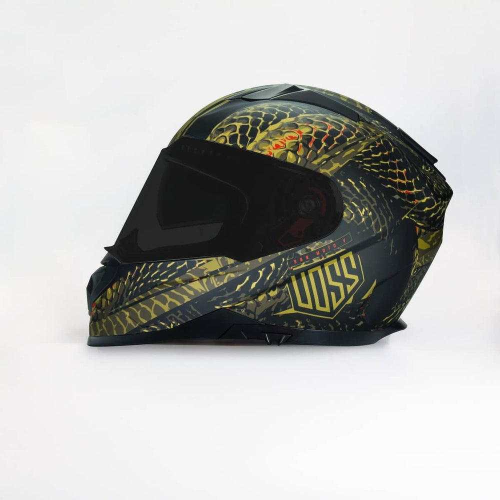 NOW AVAILABLE 989 Moto-V Matte Green Camo Serpiente Full Face Helmet