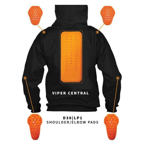 Voss Kevlar Riding Hoodie with D30 Armour - Kevlar/ Steel Skin - Voss Helmets