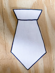 Cut out tie template