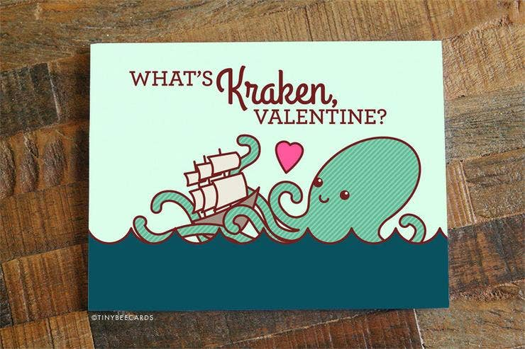 What's Kraken Valentine Card