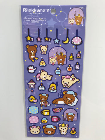 Rilakkuma Up Late Stickers
