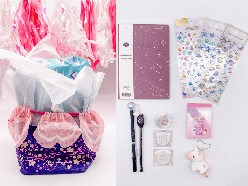 Space Girl Gift Set with Wrapping