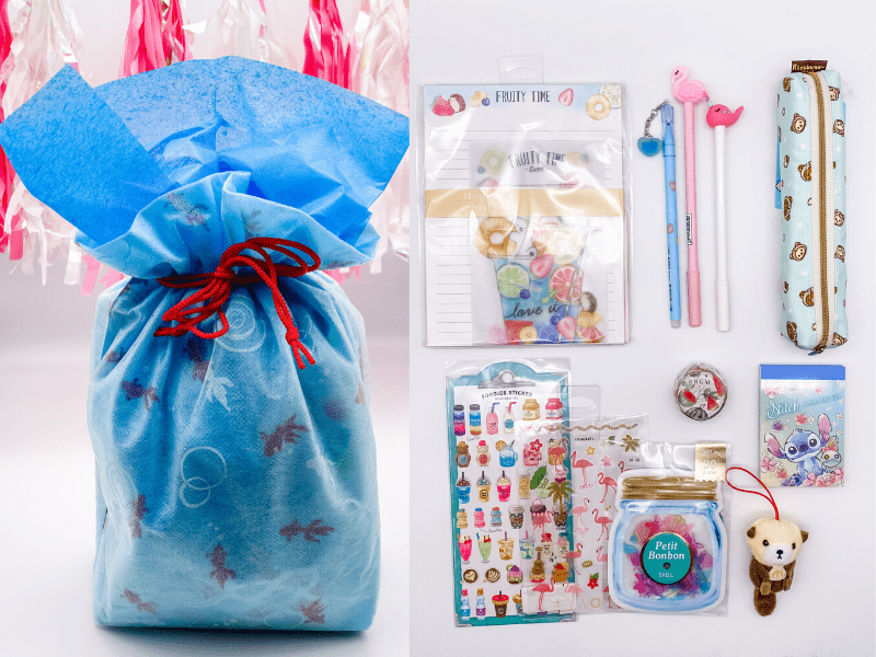 Summer Girl Gift Set with Wrapping