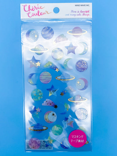 Outer Space Sticker Sheet