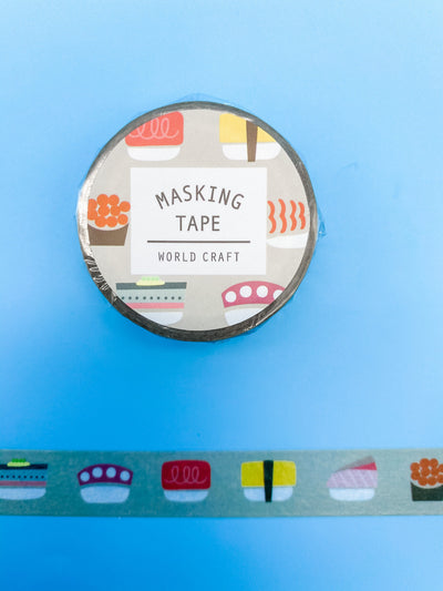 Simple Sushi Washi Tape
