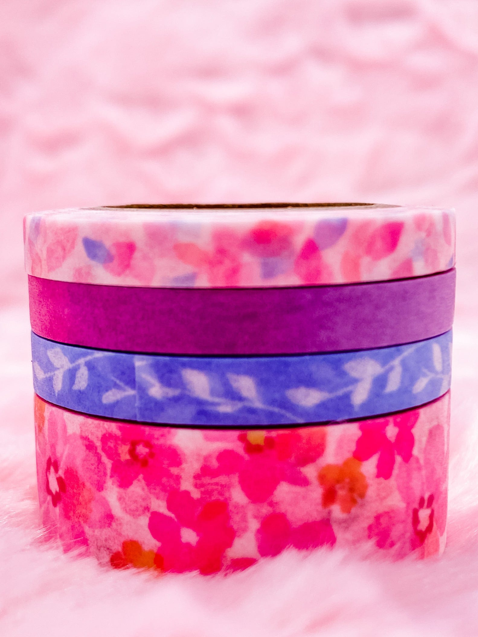 Floral Washi Tape Set of 4