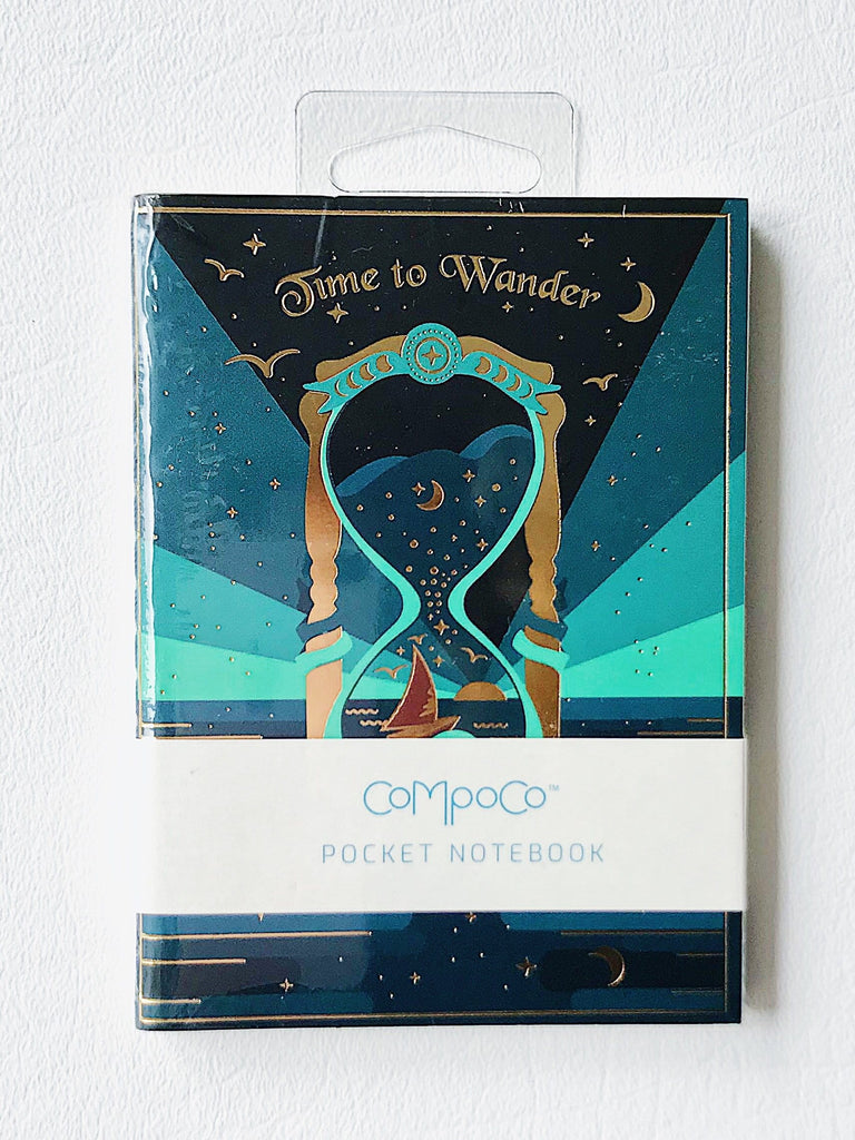 Time to Wander Pocket Notebook Set