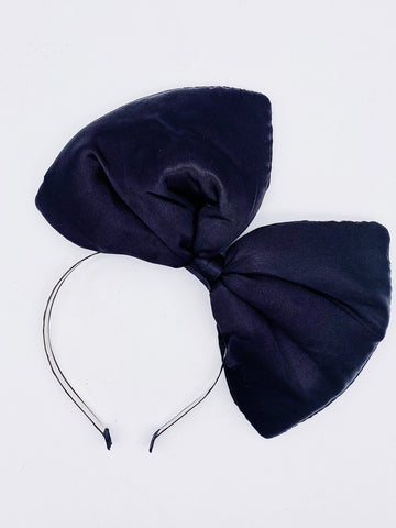 Big Bow Headband- Black