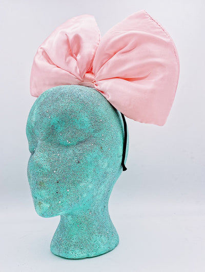 Big Bow Headband- Pink