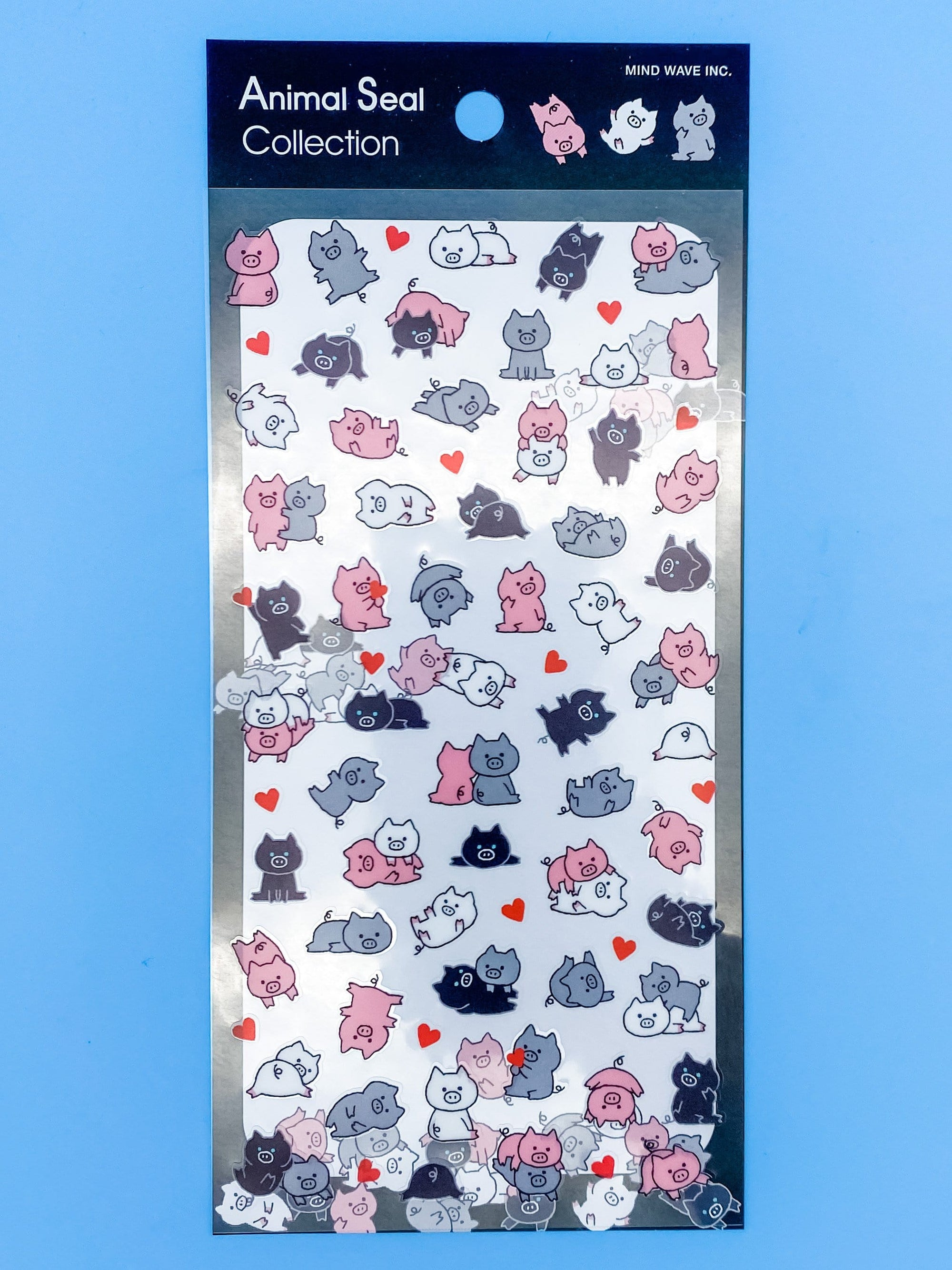 Piggy Love Sticker Sheet