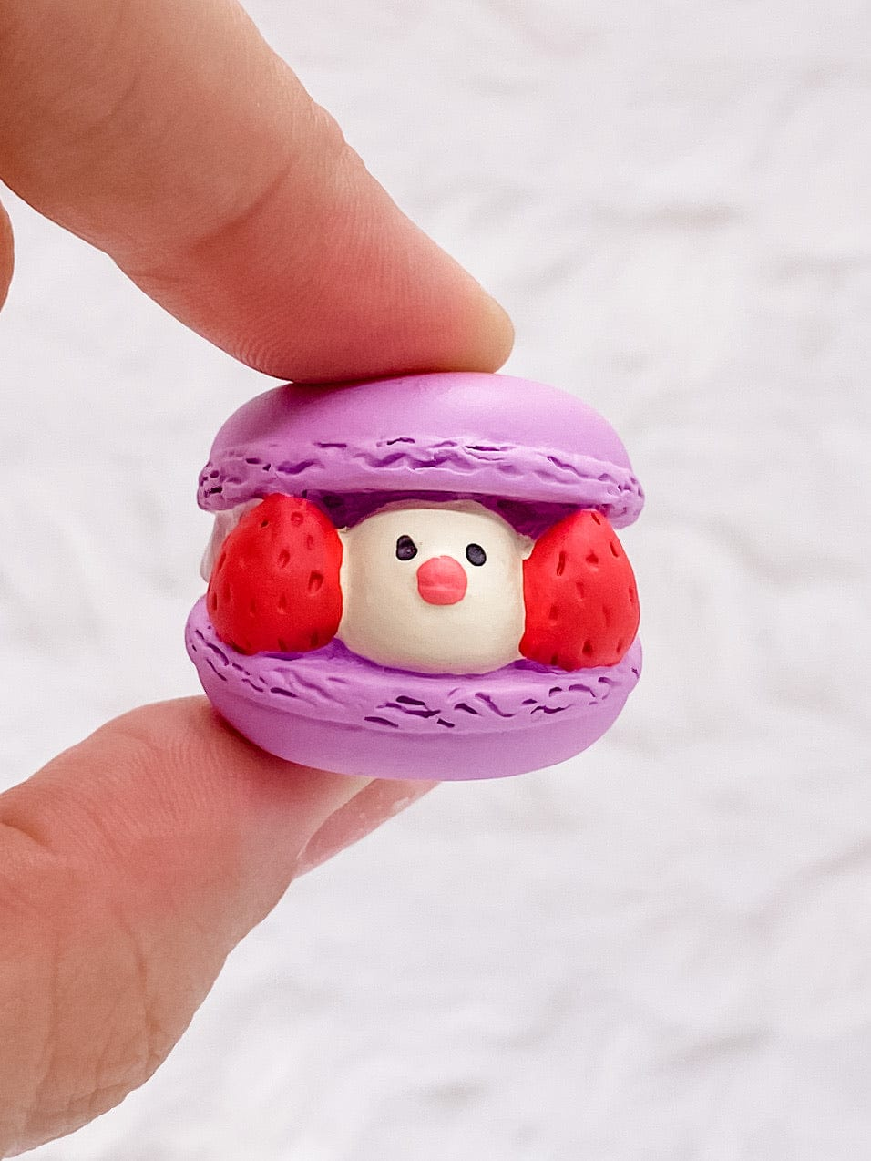 Purple Java Sparrow Macaron: Very Mattary Strawberry by Decole