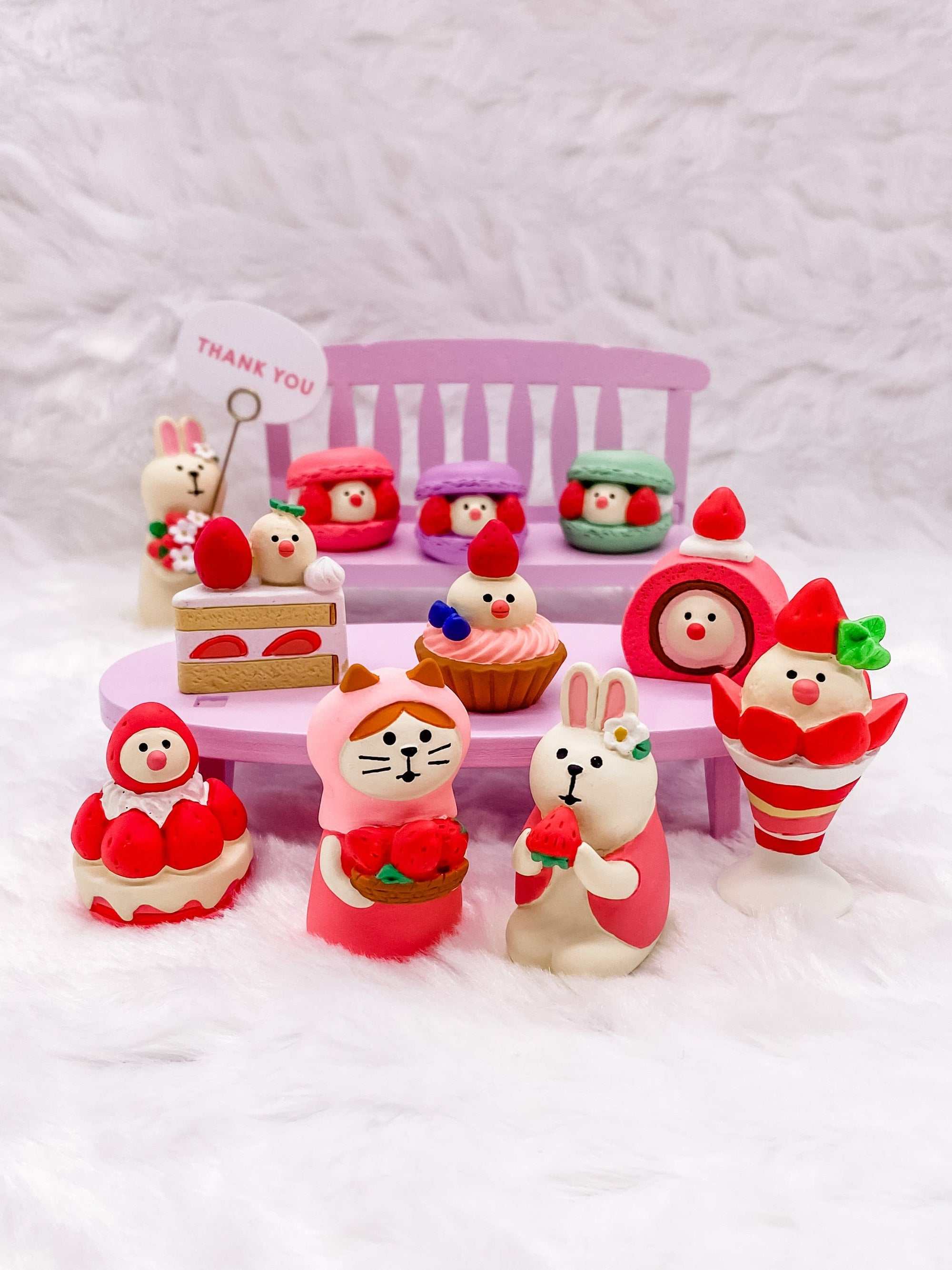 Very Mattary Strawberry Complete Set by Decole
