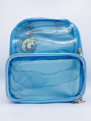 Baby Blue Ita Bag Double Panel Backpack