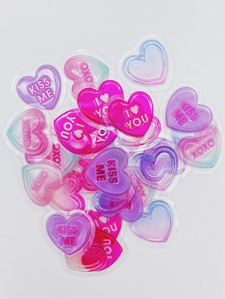Petit Bonbon Conversation Hearts Sticker Flakes Sack