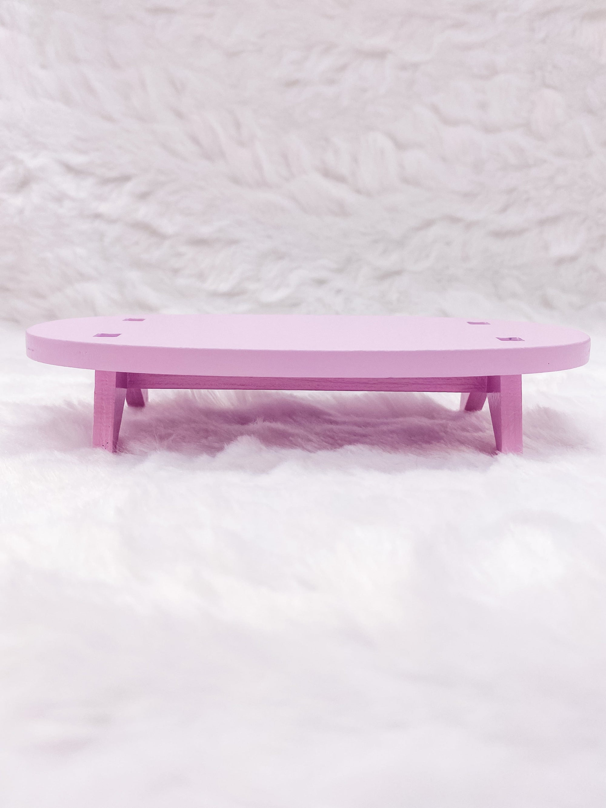 Oval Table: Very Mattary Strawberry by Decole