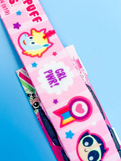 Powerpuff Girls Unicorn Pink Lanyard