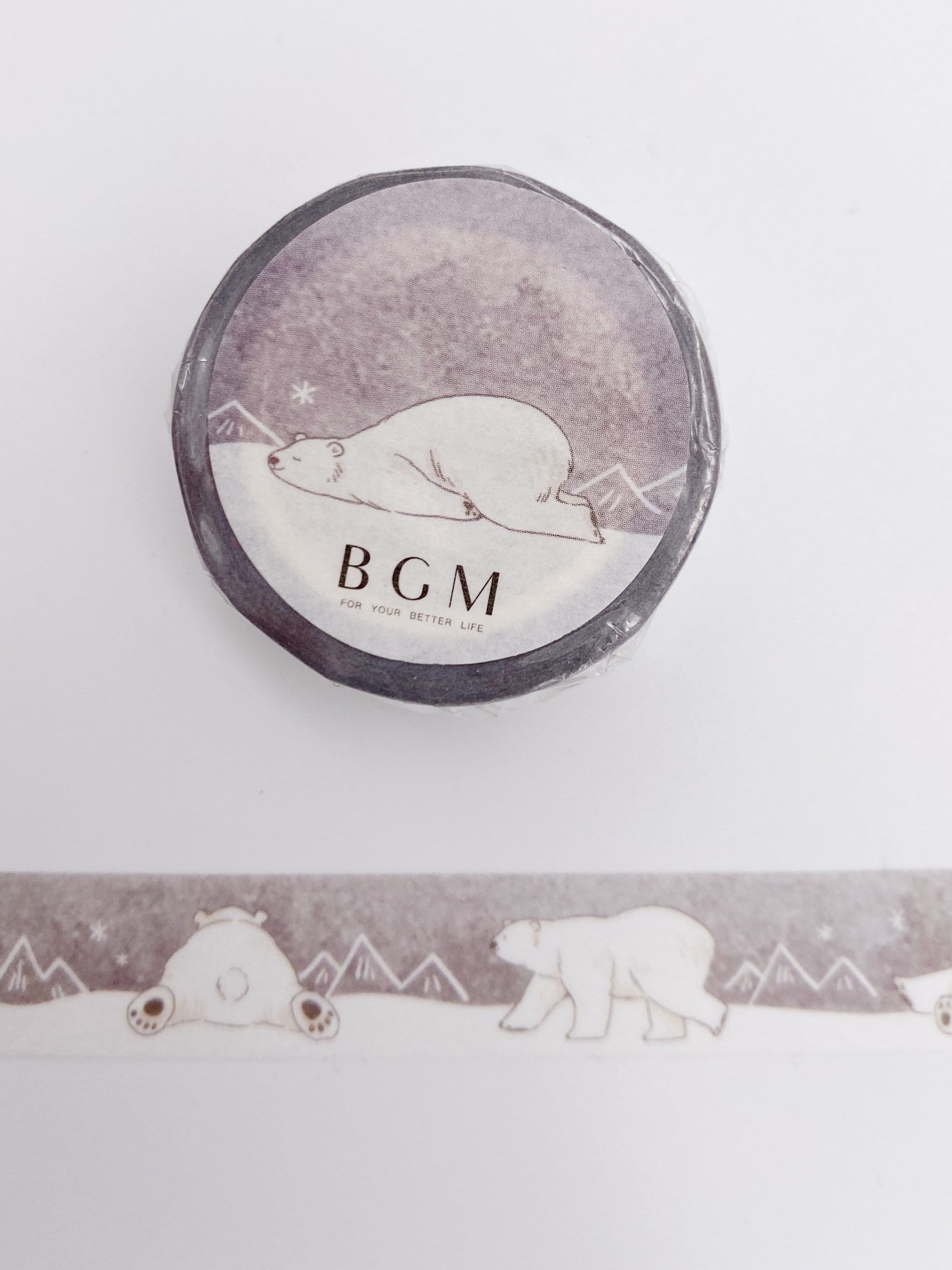 Polar Bear Washi Tape (AA00120)