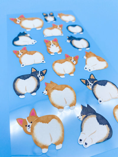Corgi Tail Stickers