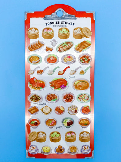 Foodies Chinese Cuisine Sticker Sheet