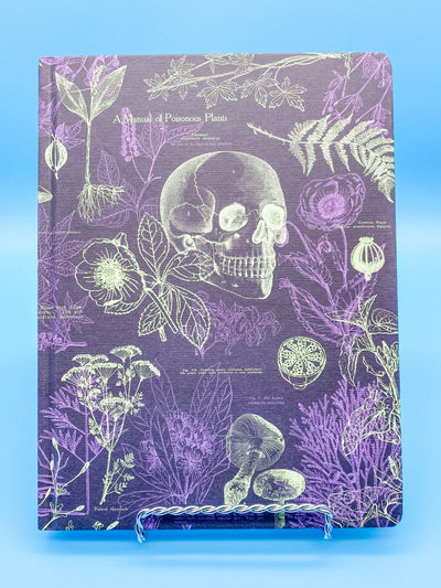 Poisonous Plants Hardcover Lined and Grid Journal