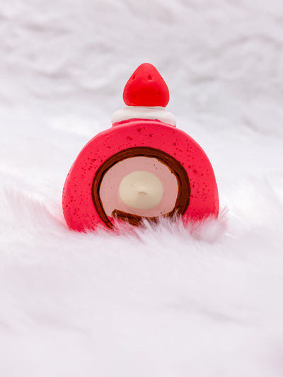Java Sparrow Cake Roll: Very Mattary Strawberry by Decole