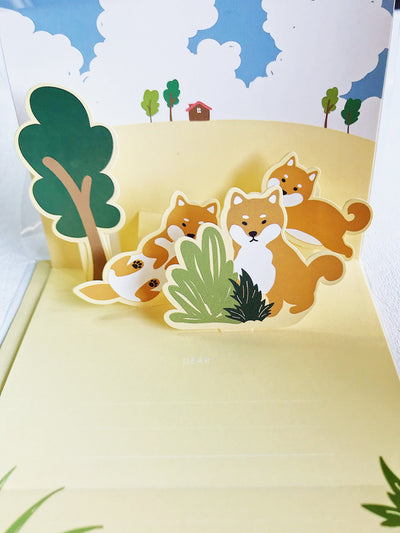 Pop Up Card You Are So Great Shiba Inu