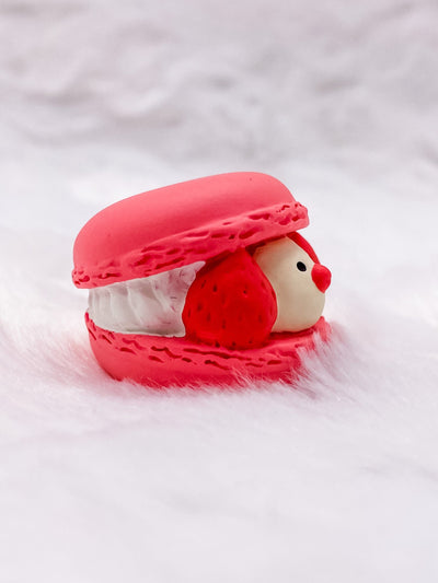 Pink Java Sparrow Macaron: Very Mattary Strawberry by Decole